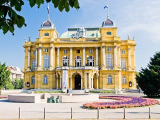 Narodno kazalište u Zagrebu, Hrvatska