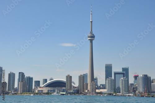 Staande foto Toronto Toronto Skyline in Canada