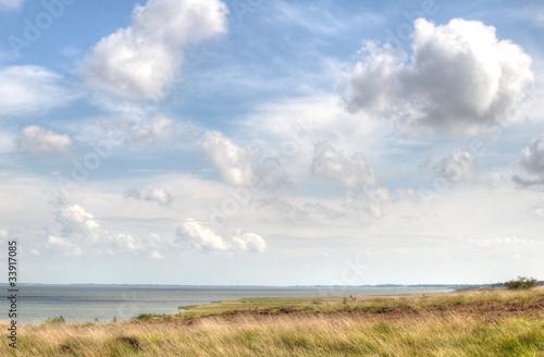 Foto-Leinwand - Nordseeküste