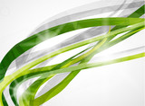 Vector absract green background