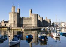 Caernarfon Castle And Marina