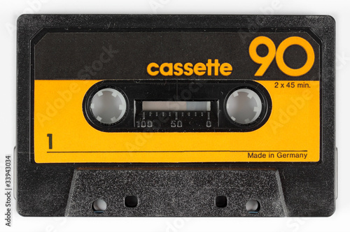 Photo old cassette