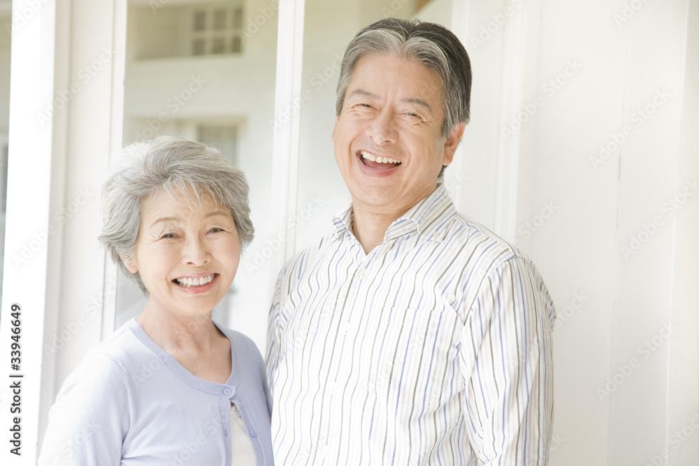 Fototapety, obrazy: 笑っている老夫婦