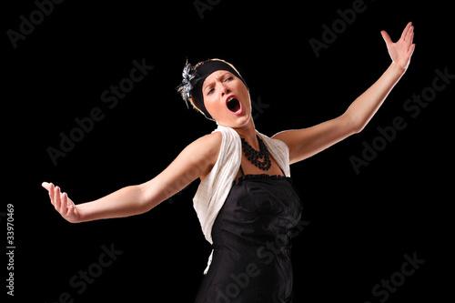 Fotografie, Obraz  Opera diva