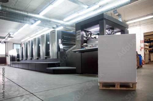 Fotografía  Press printing - Offset machine