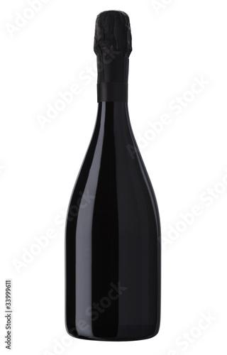 Fototapeta Sparkling White Wine Bottle, Champagne bottle obraz