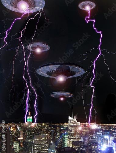Fotografering Alien invasion