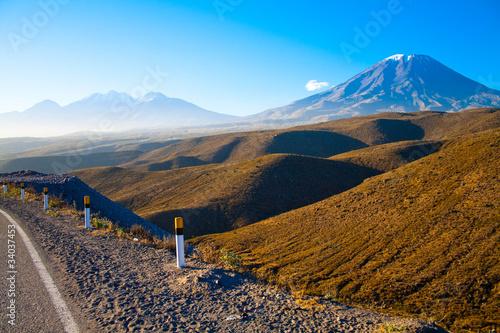 volcano El Misti, Peru