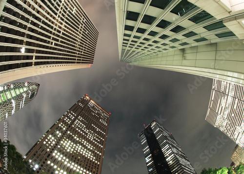 Fototapety, obrazy: ビジネス都市