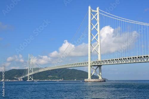 Fototapeta Akashi Kaikyo Bridge