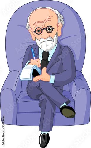 Poster Magie Dr. Freud psychotherapist