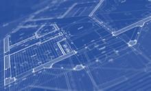 Architecture House Plan Blueprint