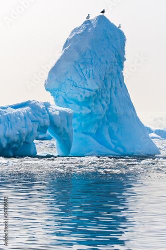 Deurstickers Antarctica Antarctic iceberg