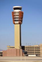 Air Port Terminal Flight Tracking Tower