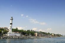 Lighthouse In Sarayburnu, Istanbul - Turkey