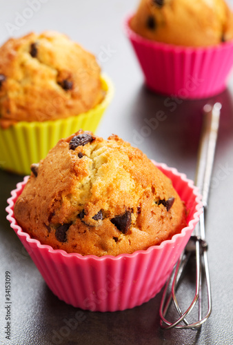 Fotografie, Obraz  Muffins et cakes