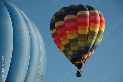 Fotobehang Ballon Mongolfiera