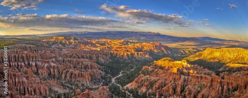 Poster de jardin Parc Naturel Bryce Canyon Panorama