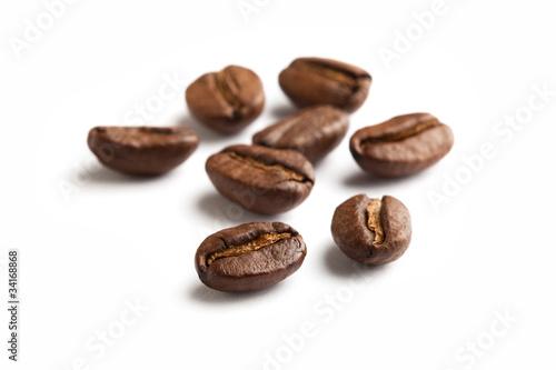 Deurstickers koffiebar Coffee Bean