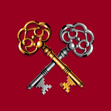 Gold And Silver Keys
