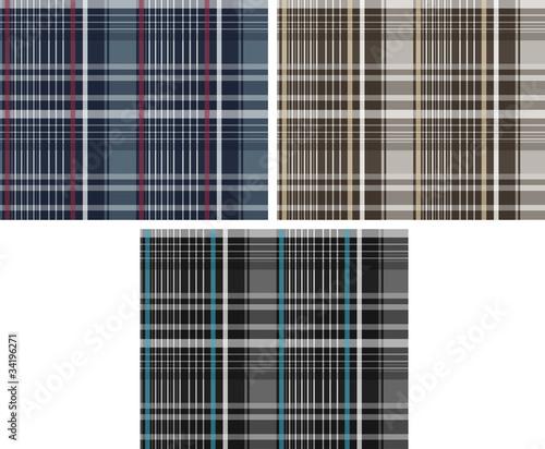 Photo  check fabric pattern