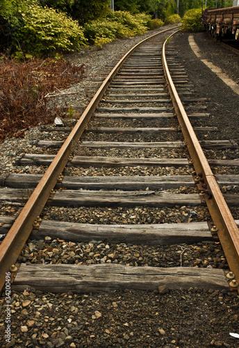Fotomural Rail
