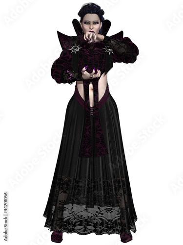 Foto op Plexiglas Art Studio Fantasy Halloween Figure