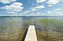 Finland Lake Pier