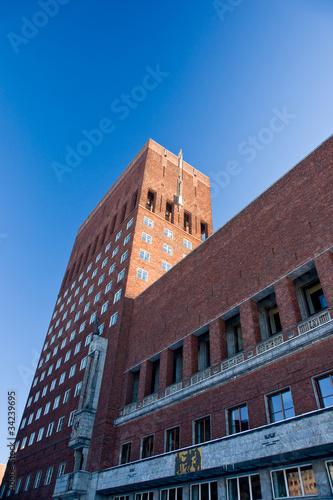 Photo  City hall in Oslo