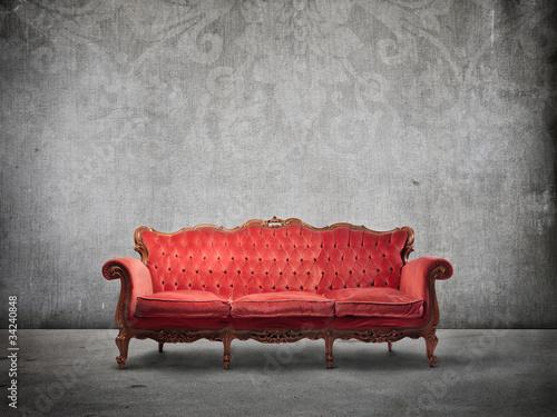 Fotografía  Vintage sofa
