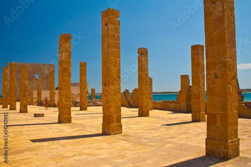 Fotografía  Siracusa, Vendicari colonne della tonnara