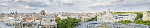 In de dag Madrid Madrid panoramical view