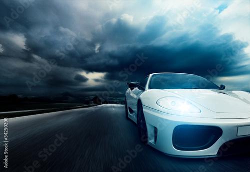 Fotobehang Snelle auto s Sportscar