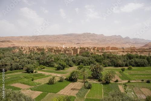 Poster Maroc Valle Delle Rose-Marocco