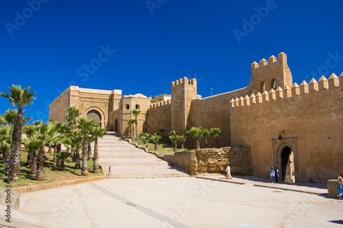 Photo Stands Morocco Rabat Kasbah