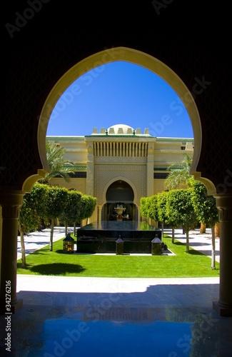 Poster Maroc Mazagan Resort El Jadida