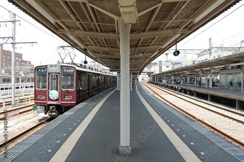 Fototapety, obrazy: 阪急電鉄の車両