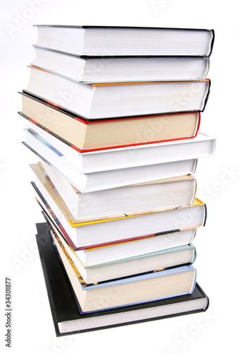 Obraz Plik książek - fototapety do salonu
