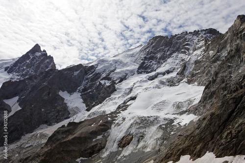 Fotografie, Obraz  La Meije, massif des écrins