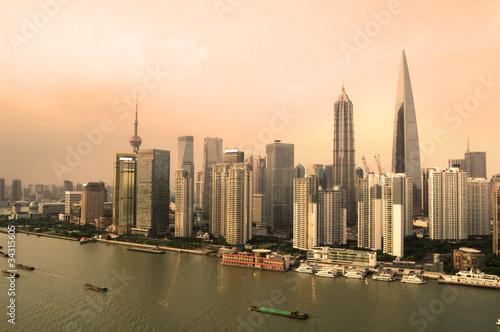 Fotografering  scene of shanghai