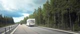caravan on road - 34316050