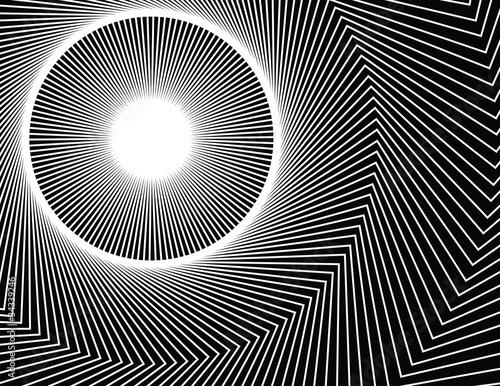 Wall Murals Psychedelic Wave Wheel