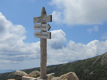 Mountaintop Trail Sign