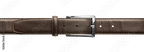 Brown leather belt with buckle Canvas-taulu