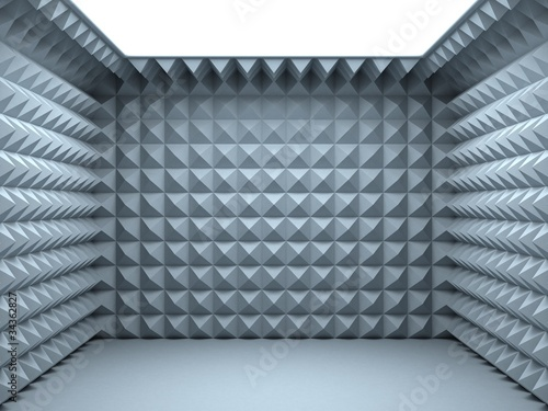 Valokuva  empty soundproof room