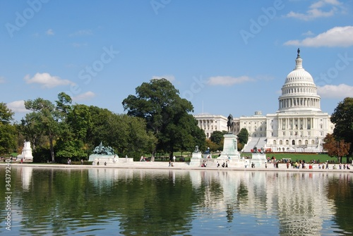 Fototapeta Washington DC Capitol Building, USA obraz