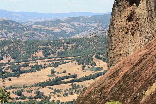 Fotografie, Obraz  Meteora valley in Greece