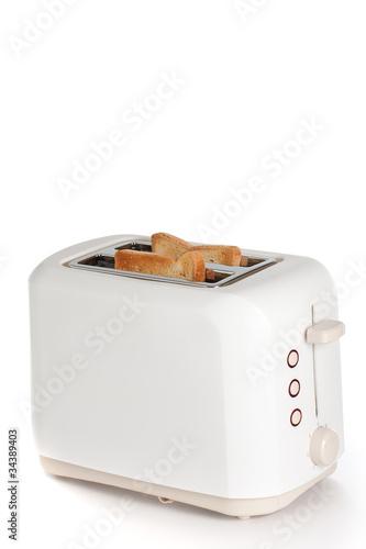 Fotografie, Obraz Modern toaster with bread slices