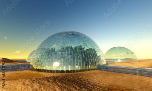 Fotografia  bio dome