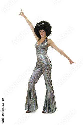 Photographie  Disco - bras non femme en l'air